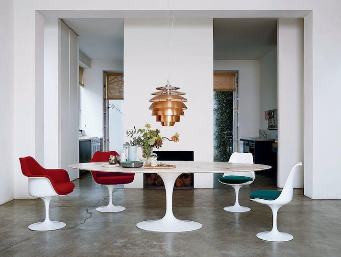 Knoll Tulip Chairs Eero Saarinen