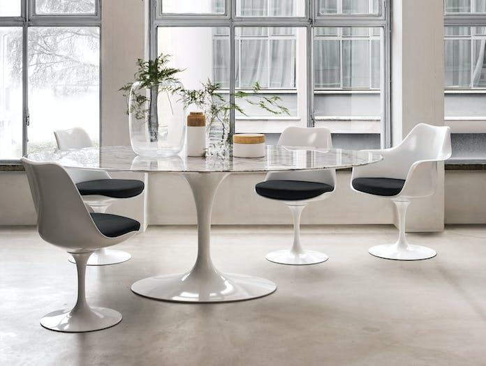 Knoll Tulip Chairs Table Eero Saarinen