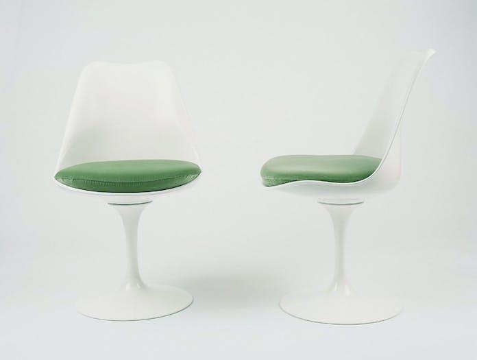 Knoll Tulip Side Chairs Eero Saarinen