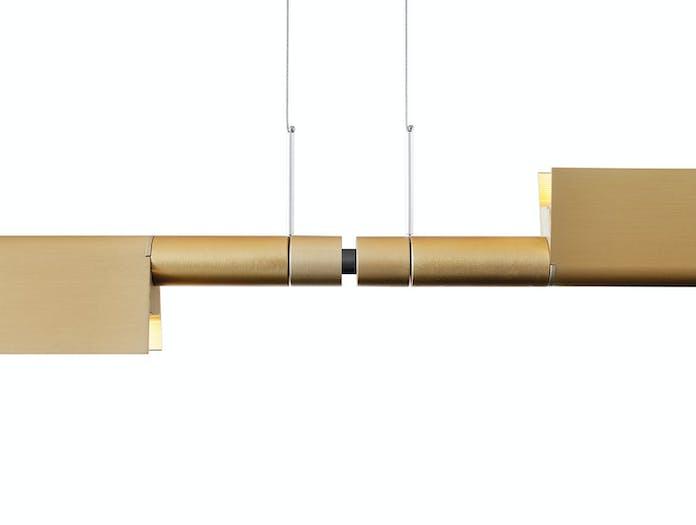 Luceplan Compendium Suspension Light 2 Brass Detail Daniel Rybakken