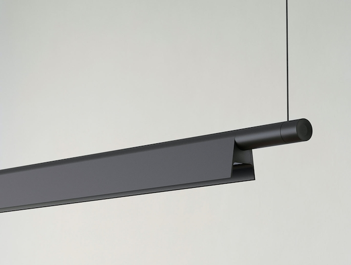 Luceplan Compendium Suspension Light Black Detail Daniel Rybakken