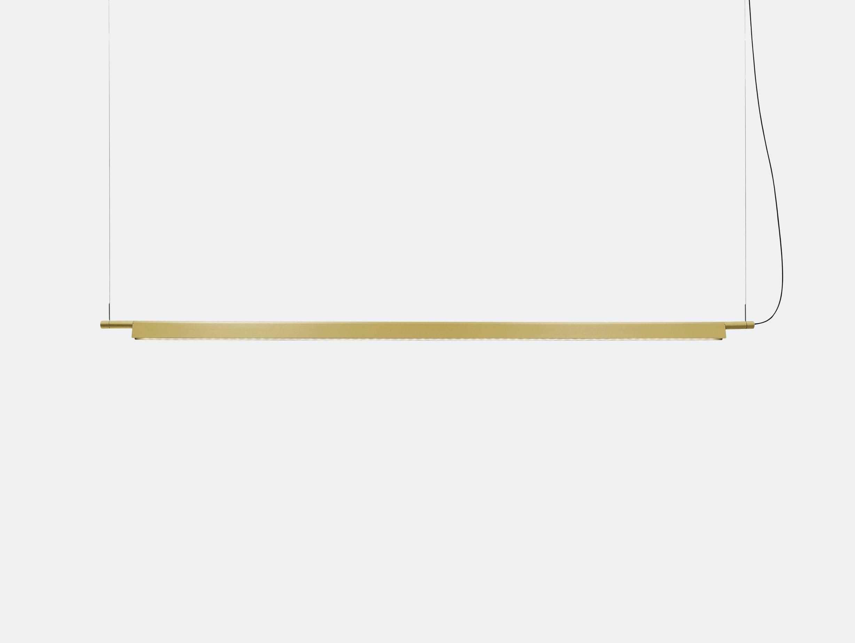 Luceplan Compendium Suspension Light Brass Daniel Rybakken