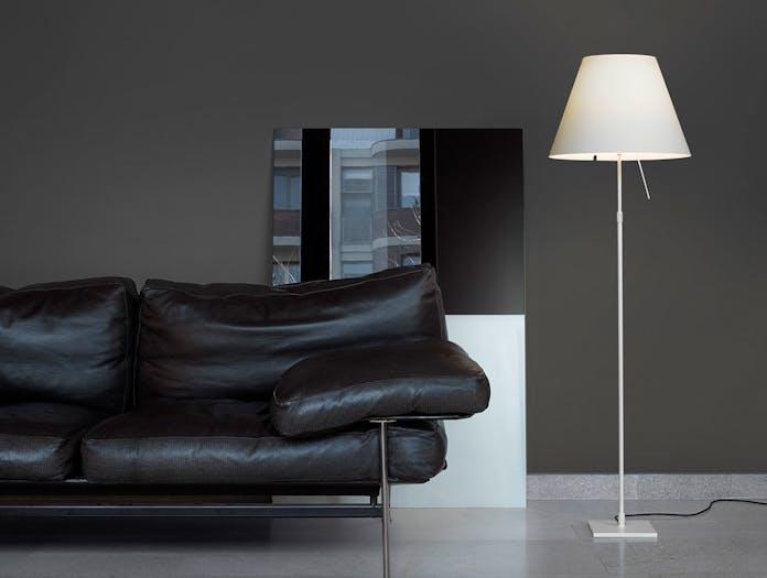 Luceplan Costanza Floor Lamp On Paolo Rizzatto