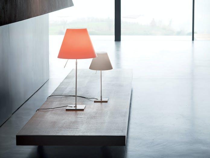 Luceplan Costanza Table Lamps Alu Stem Paolo Rizzatto