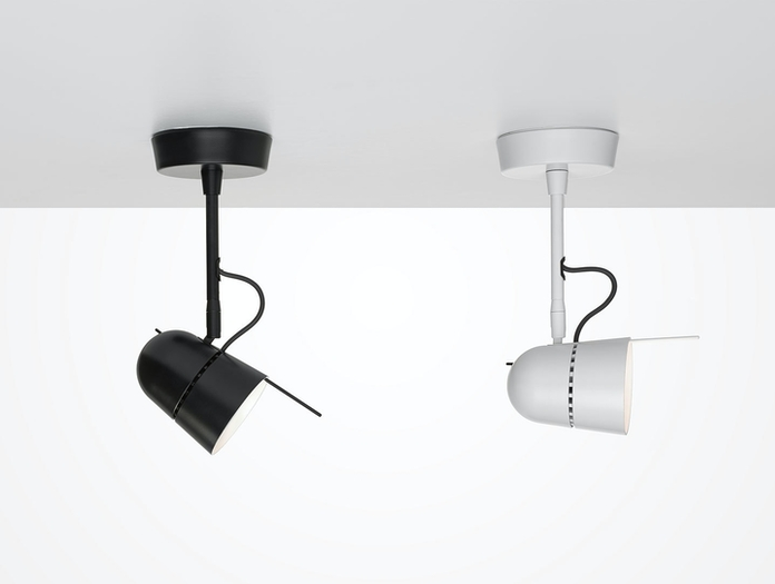 Luceplan Counterbalance Spot Lights Ceiling Daniel Rybakken