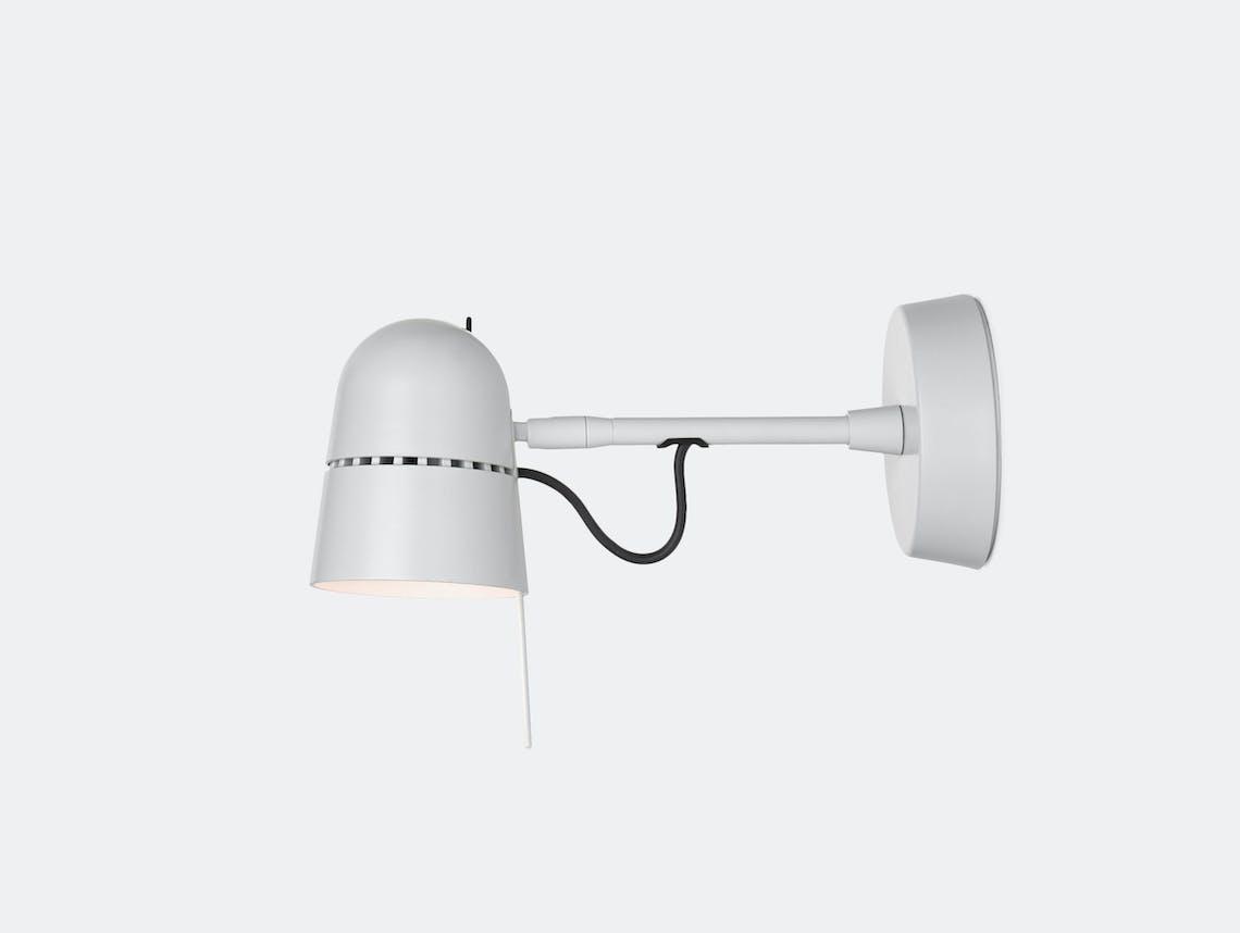 Luceplan Counterbalance Spot Wall Light White Daniel Rybakken