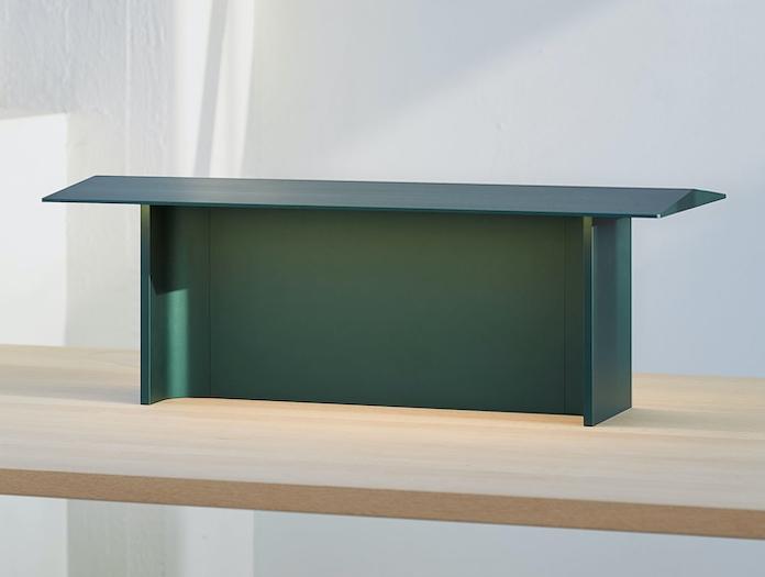 Luceplan Fienile Table Lamp 2 Forest Green Daniel Rybakken