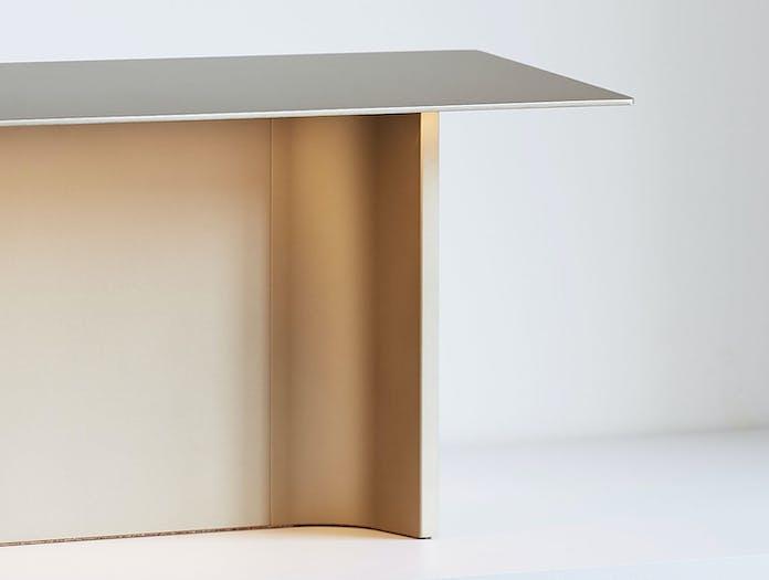 Luceplan Fienile Table Lamp Detail Prosecco Daniel Rybakken