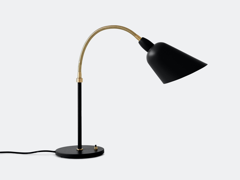 And Tradition Bellevue Table Lamp Aj8 Black Arne Jacobsen