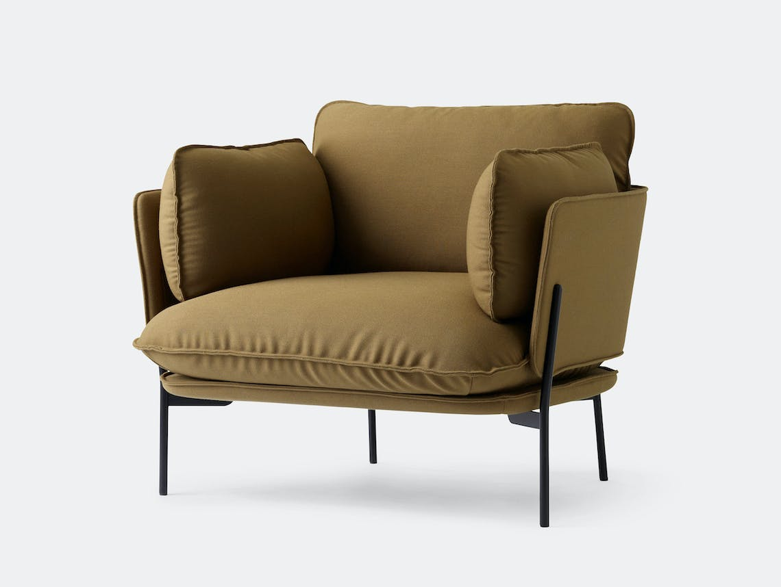 And Tradition Cloud Armchair Ln1 Luca Nichetto