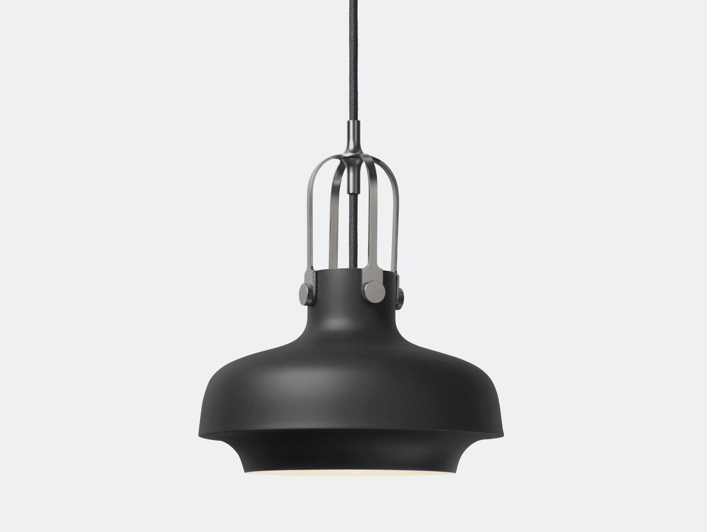 And Tradition Copenhagen Pendant Lamp Sc6 Black