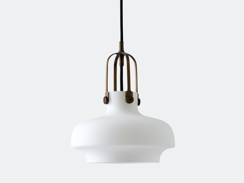 And Tradition Copenhagen Pendant Lamp Sc6 Opal