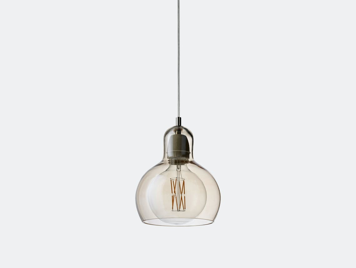 And Tradition Mega Bulb Pendant Light Gold Sofie Refer