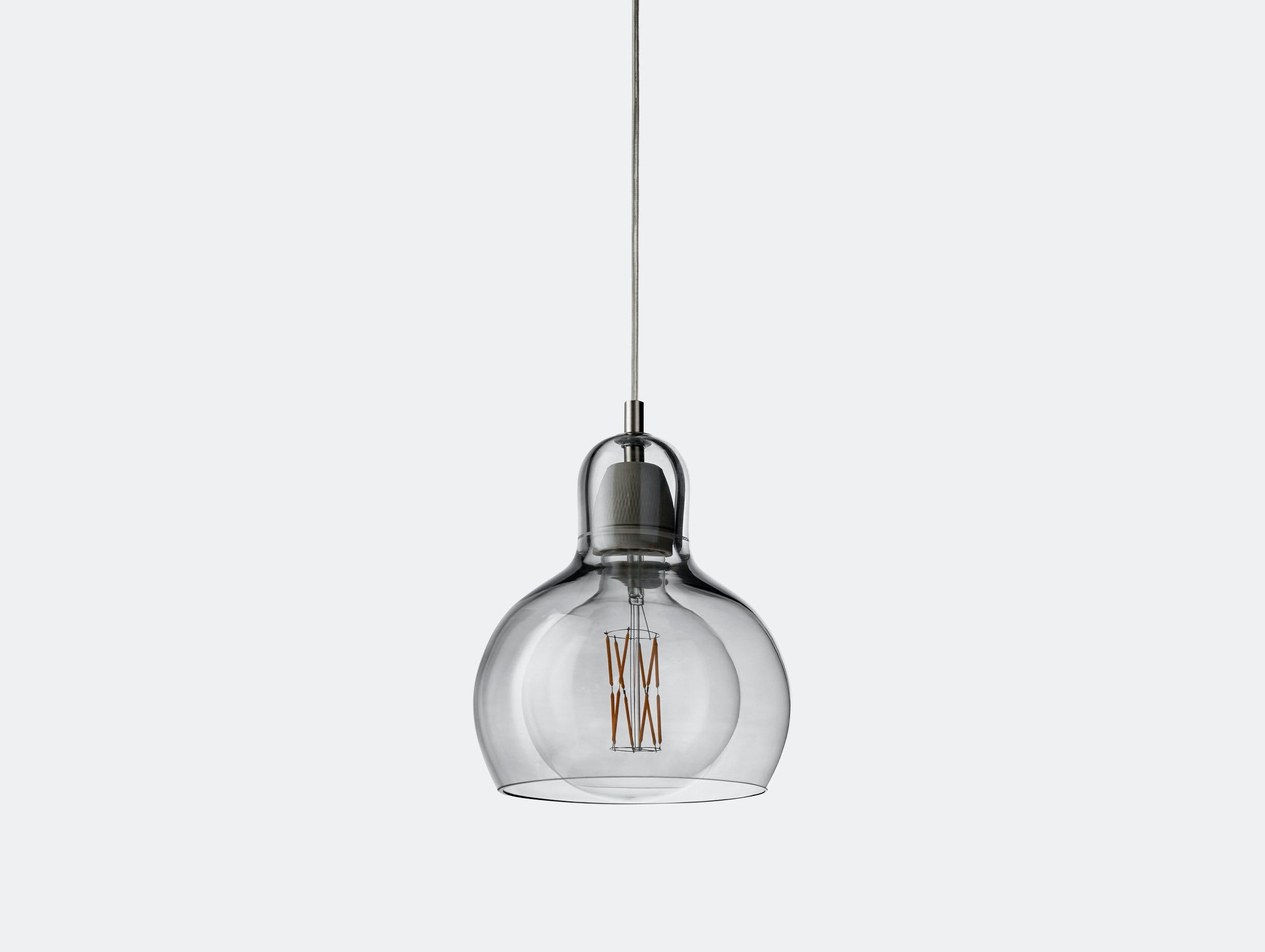 And Tradition Mega Bulb Pendant Light Silver Sofie Refer