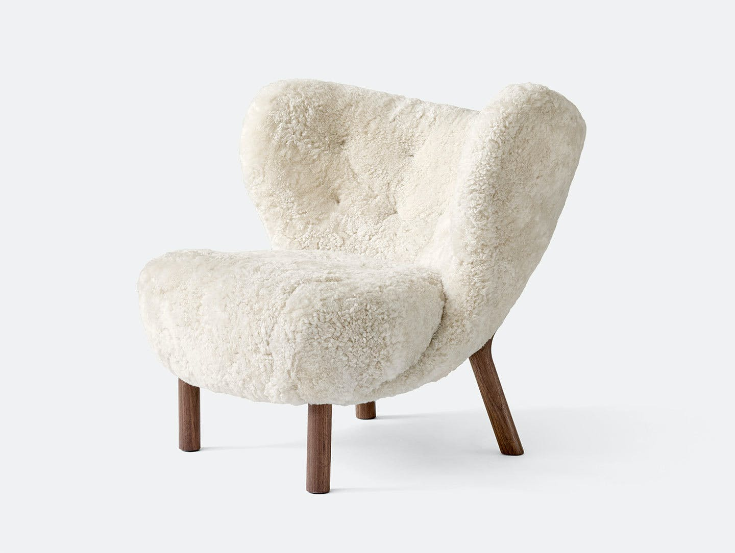 And tradition little petra lounge chair sheep moonlight