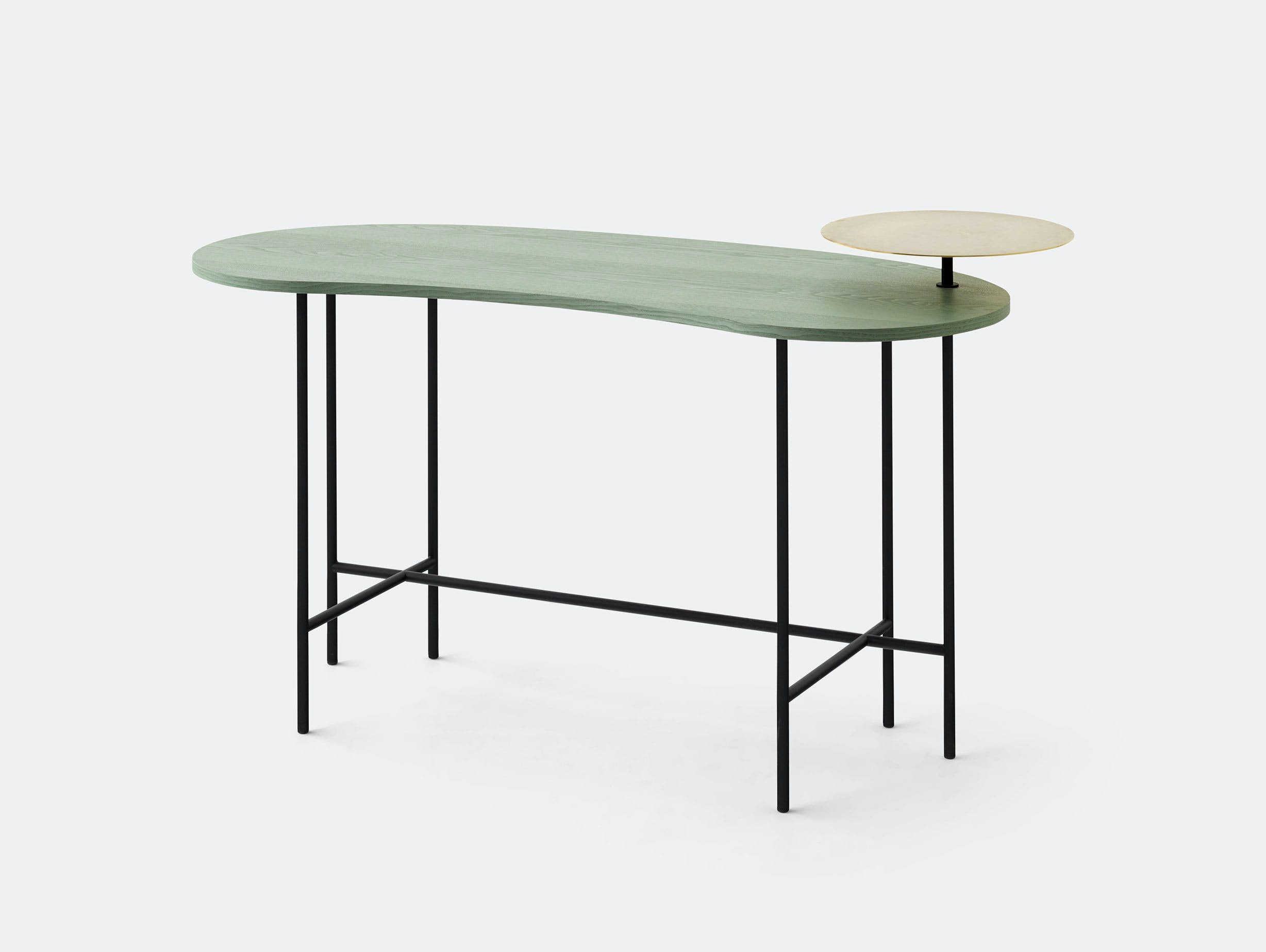 And Tradition Palette Desk Green Jaime Hayon