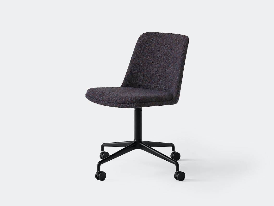 Andtradition rely chair castor base zero 0010 blk