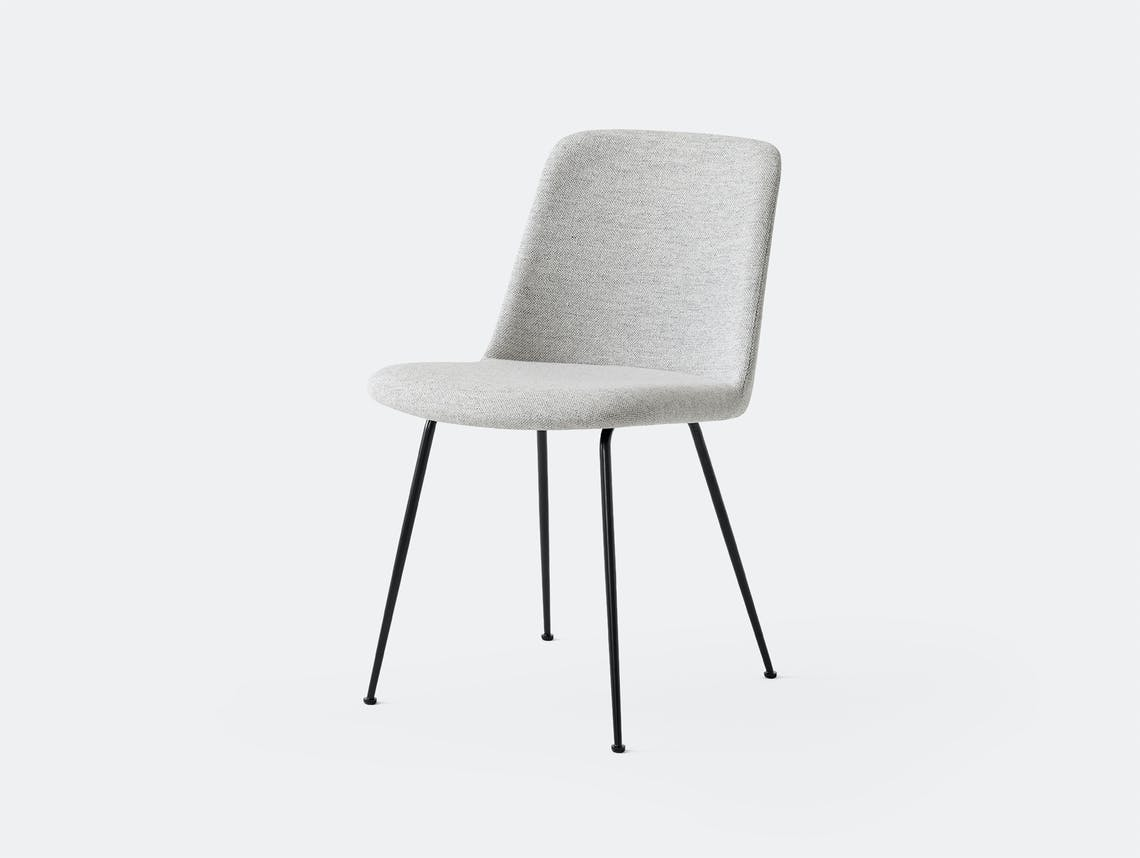 Andtradition rely chair four leg Black Hallingdal 110