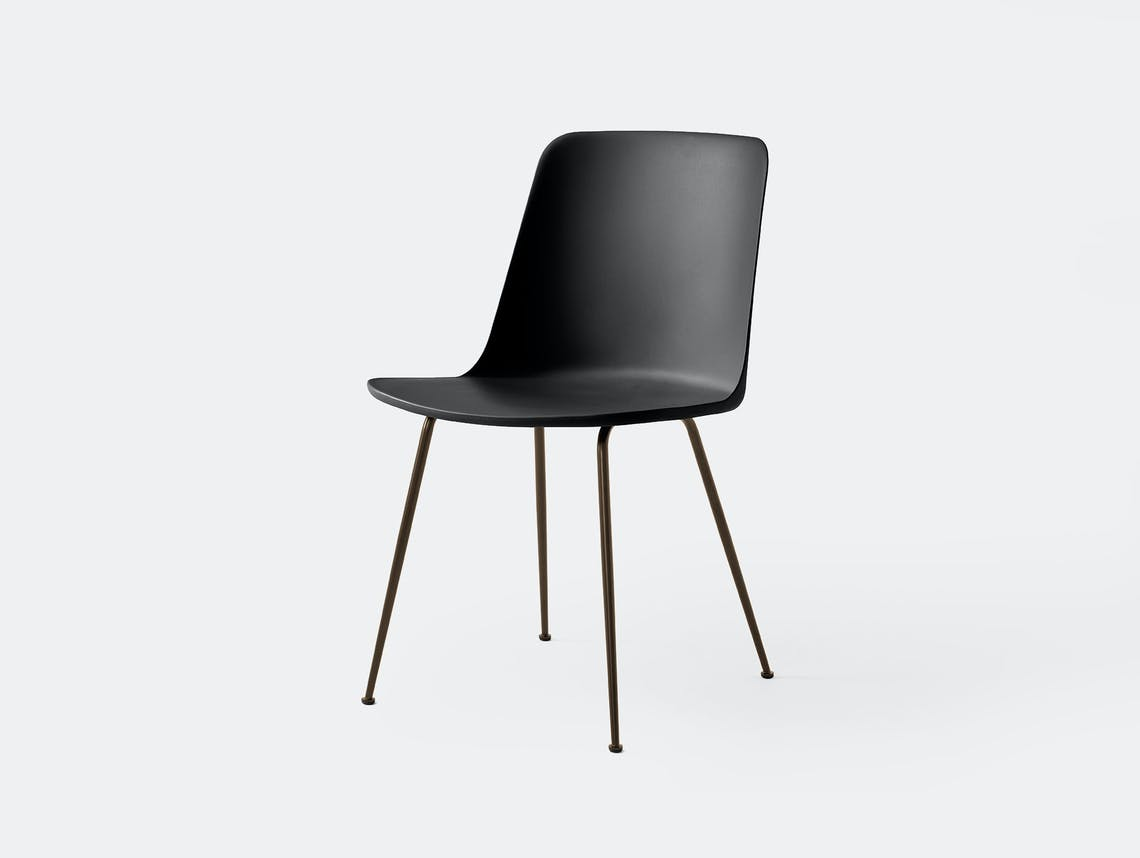 Andtradition rely chair four leg brz black 2