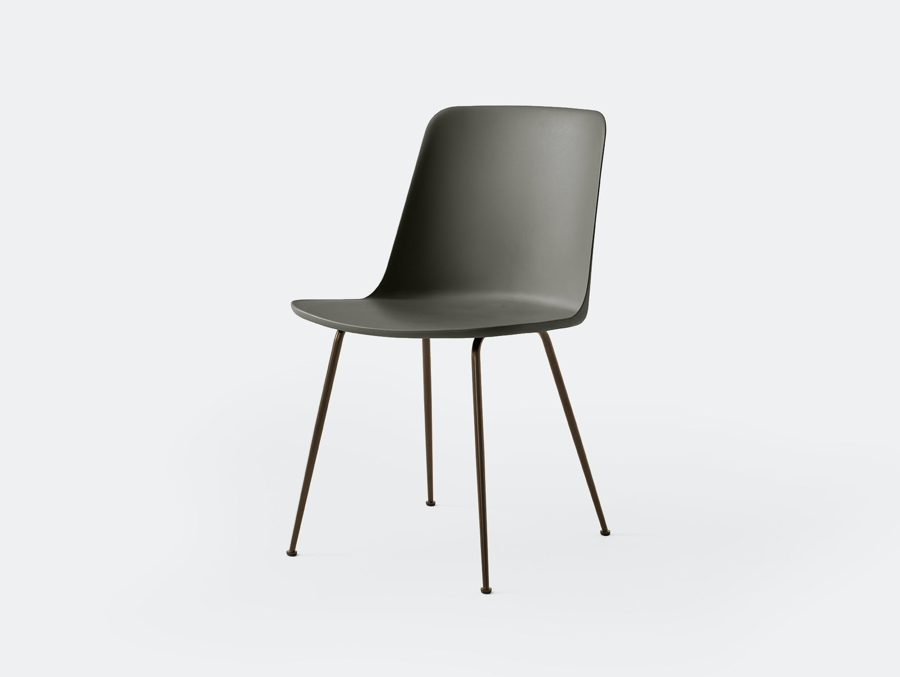 Andtradition rely chair four leg brz grey 2
