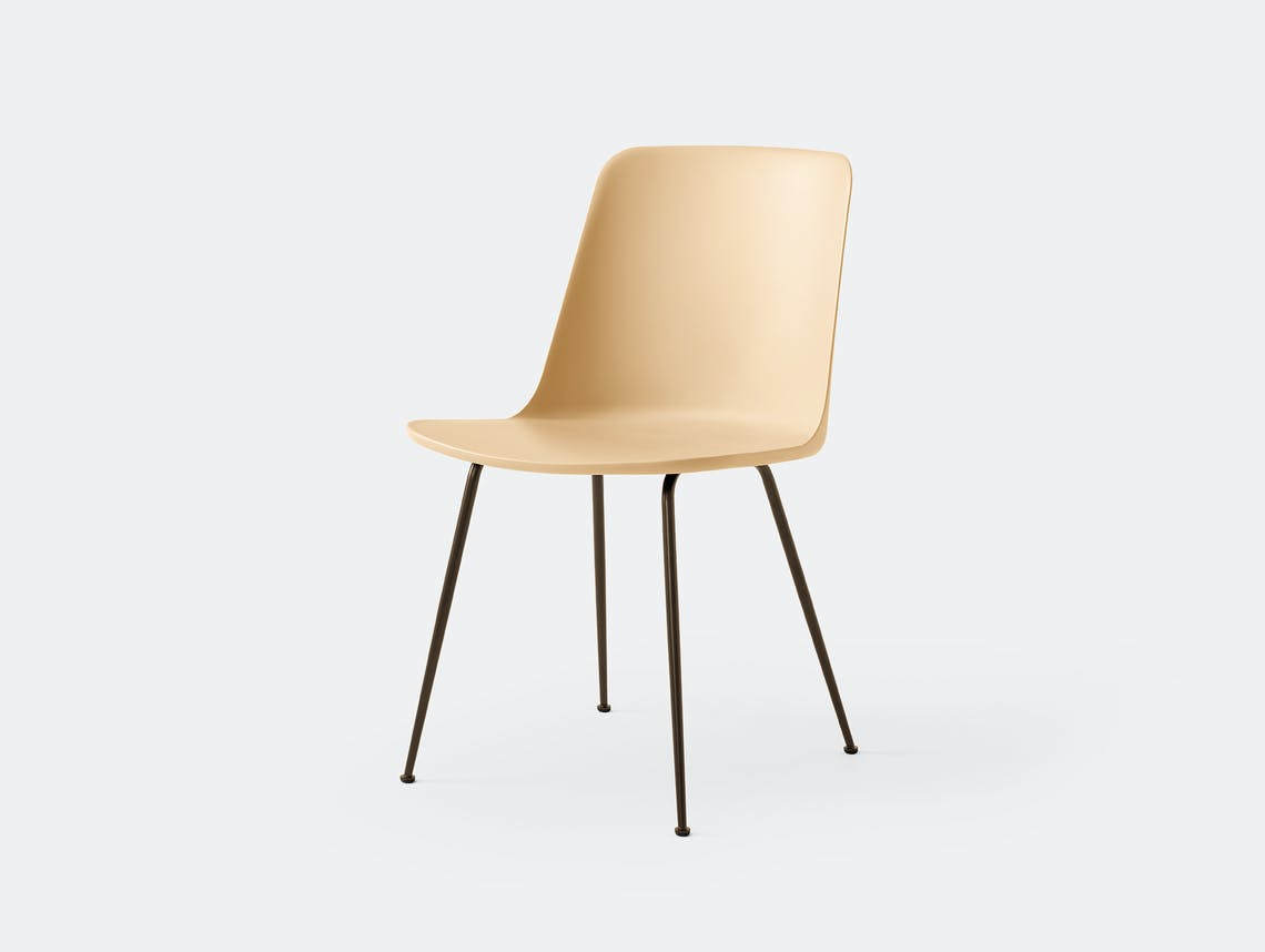 Andtradition rely chair four leg brz sandbeige