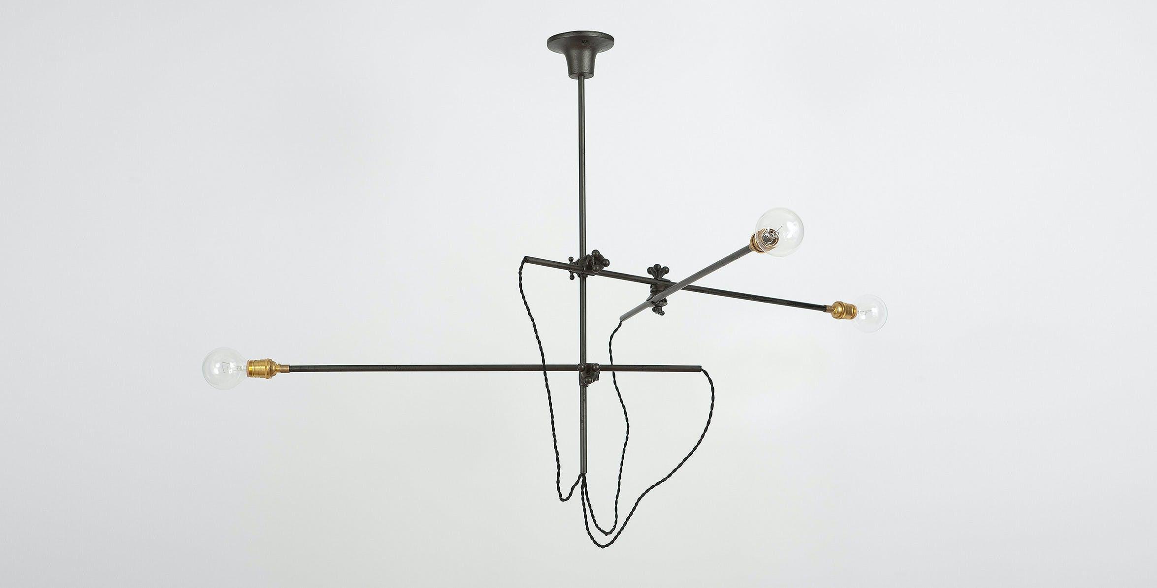 Workstead Lighting Industrial Chandelier