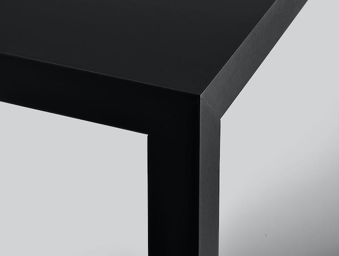 Mdf Italia Tense Table Black Detail Piergiorgio Cazzaniga