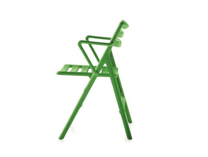 Magis Folding Air Chair W Arms Jasper Morrison