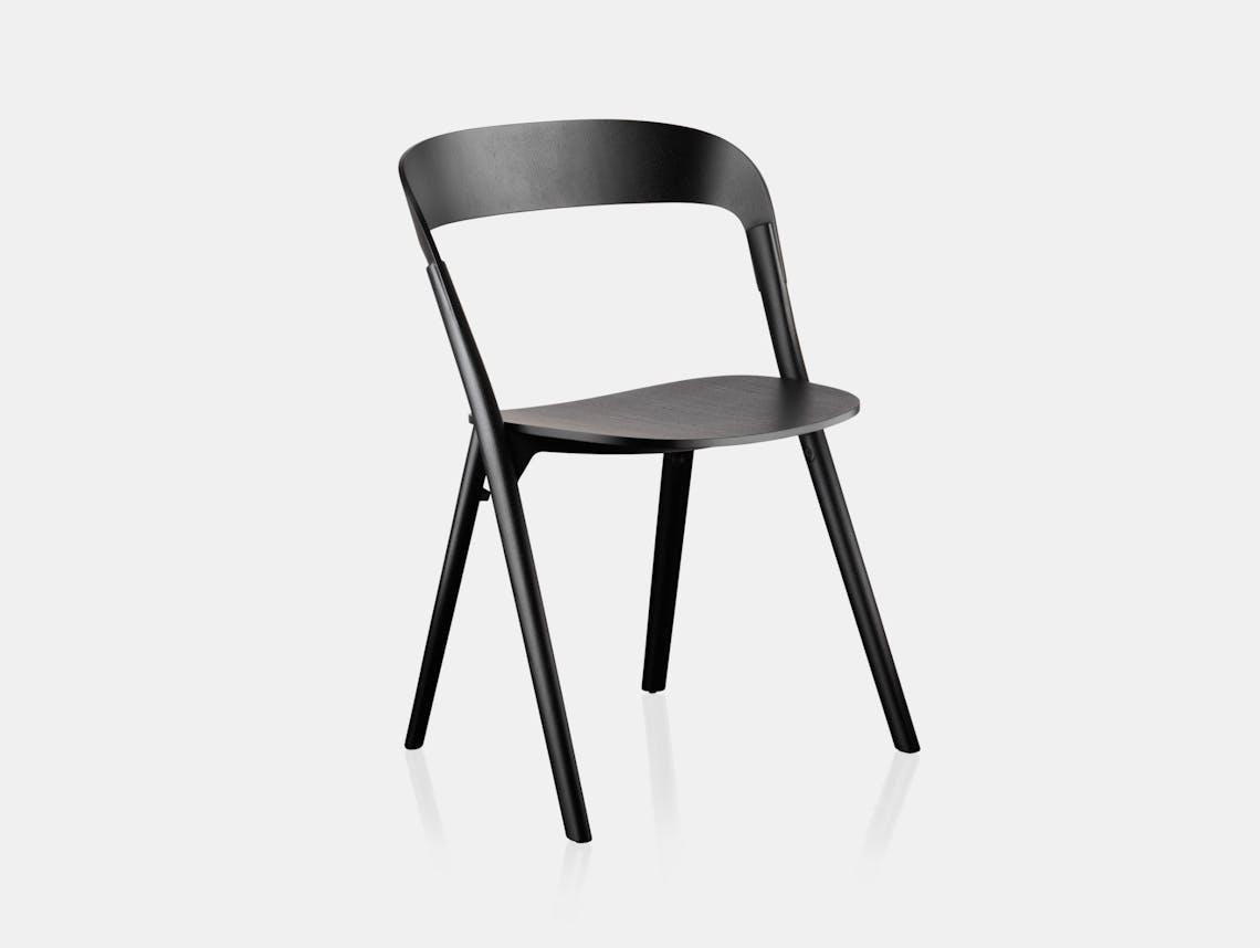 Magis Pila Chair Black Ronan Erwan Bouroullec