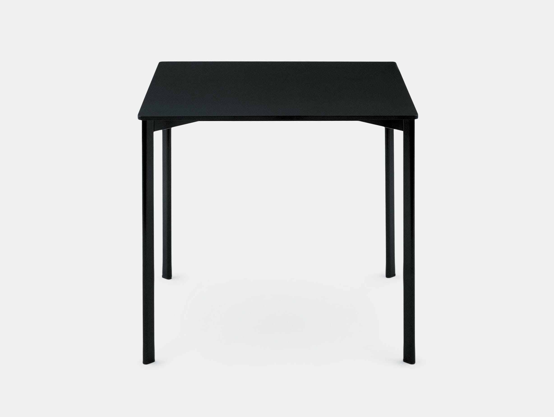 Magis Striped Table Square Black Ronan Erwan Bouroullec