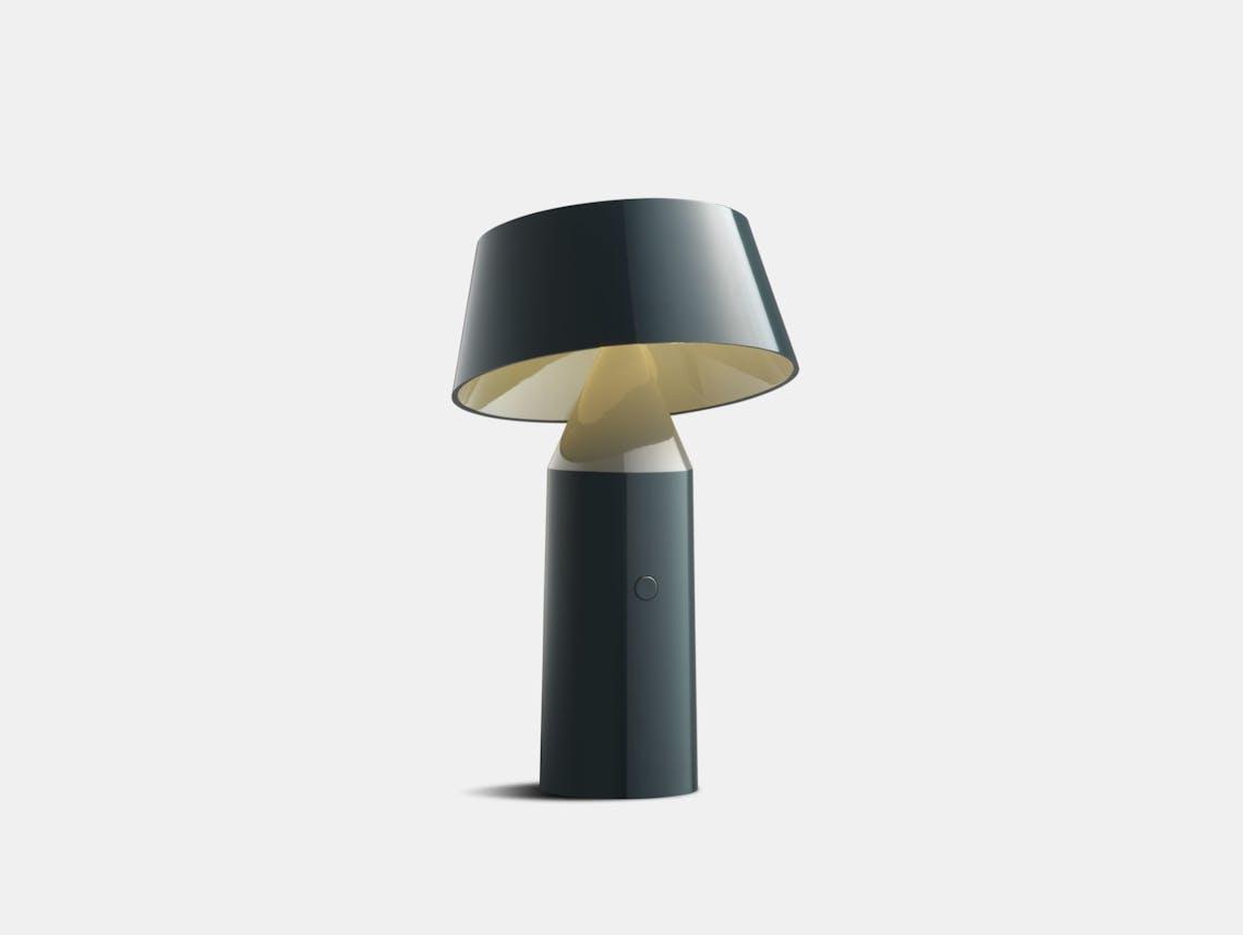 Marset Bicoca Portable Table Lamp Anthracite Christophe Mathieu