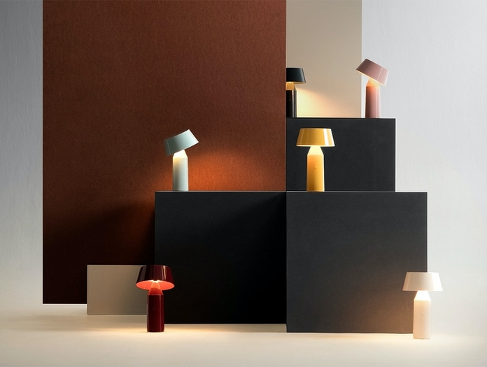 Marset Bicoca Portable Table Lamp Collection Christophe Mathieu