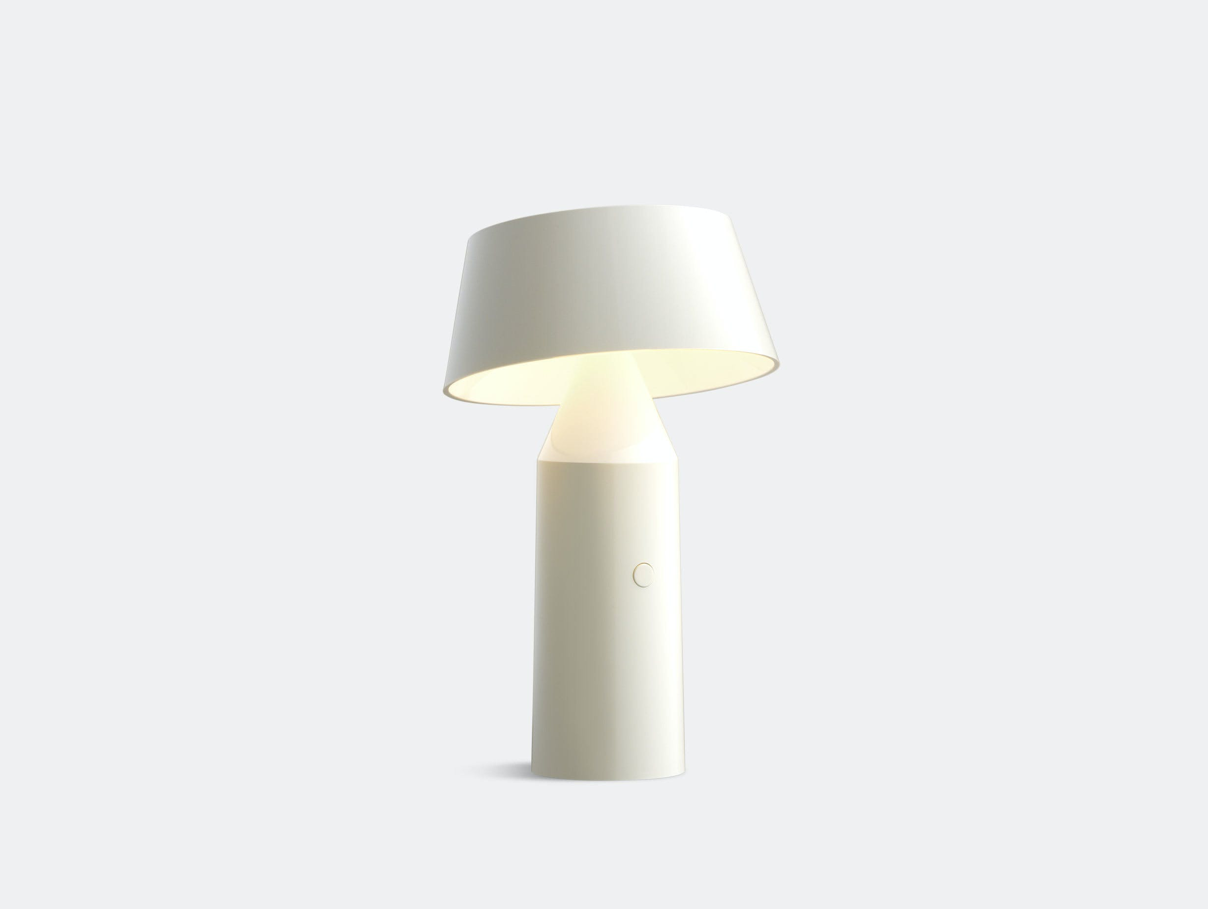 Marset Bicoca Portable Table Lamp White Christophe Mathieu