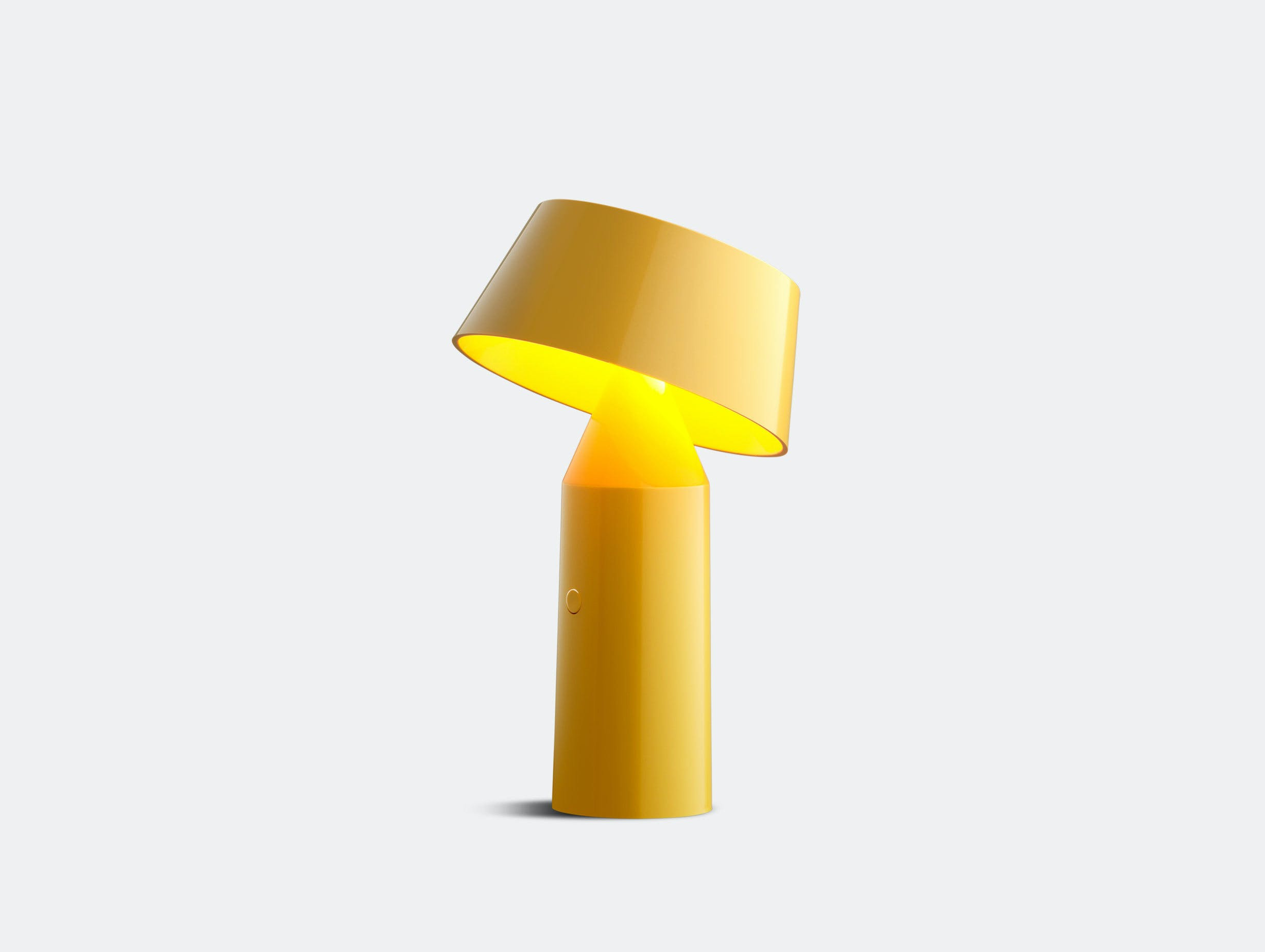 Marset Bicoca Portable Table Lamp Yellow Christophe Mathieu