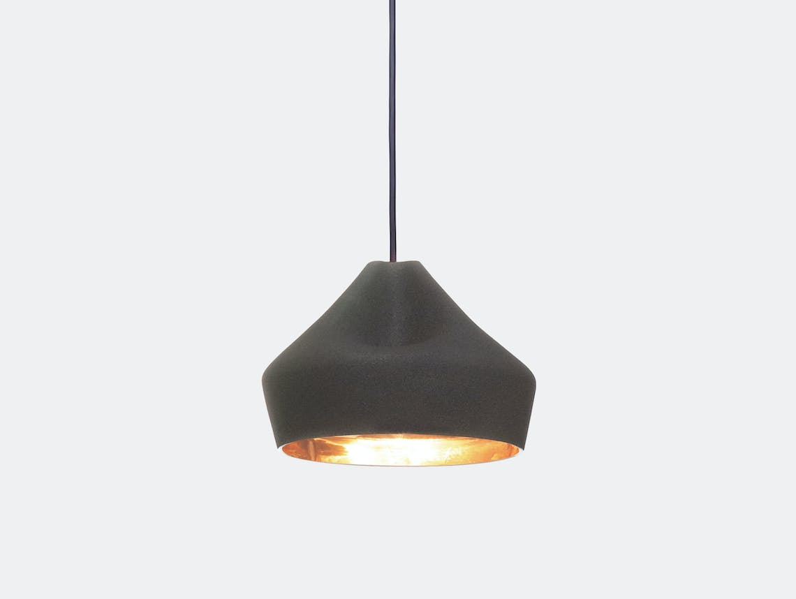 Marset Pleat Box 24 Led Pendant Light Black Gold Xavier Manosa Mashallah