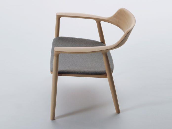 Maruni Hiroshima Lounge Chair Beech Naoto Fukasawa