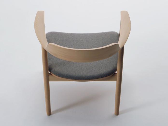 Maruni Hiroshima Lounge Chair Beech Back Naoto Fukasawa