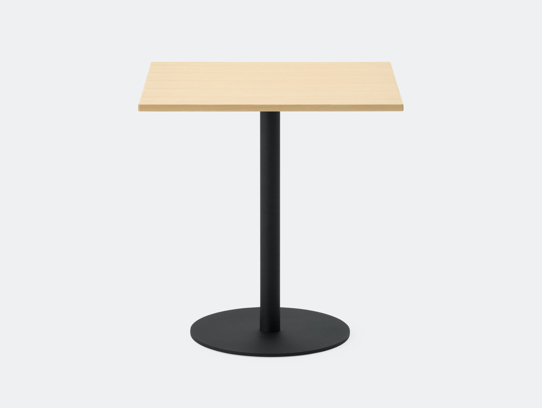 Maruni T O Rectangular Table Maple Black Jasper Morrison