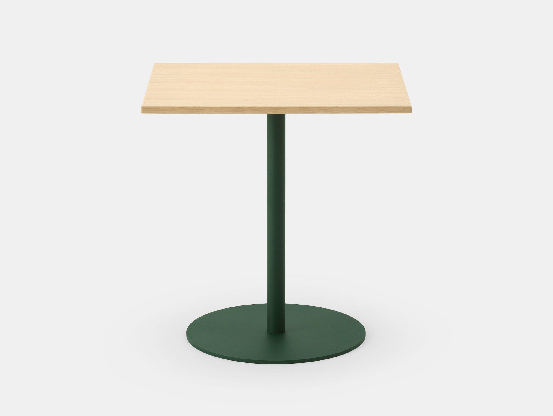 Maruni T O Rectangular Table Maple Green Jasper Morrison