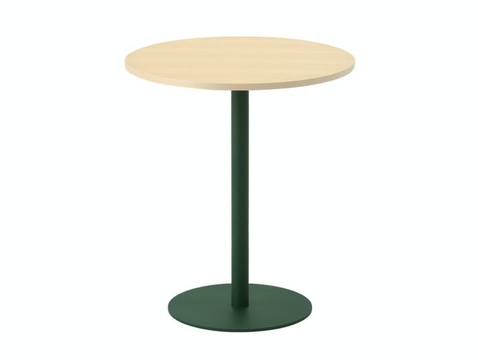 Maruni T O Round Table Maple Green W Jasper Morrison