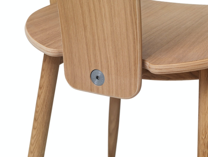 Massproductions Icha Chair Back Detail