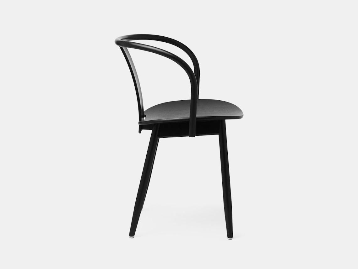 Massproductions Icha Chair Black Side