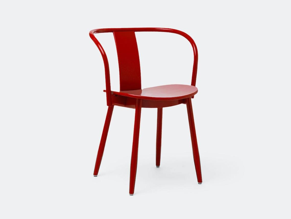Massproductions Icha Chair Red