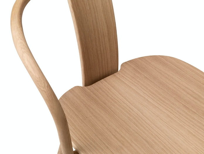Massproductions Icha Chair Seat Detail