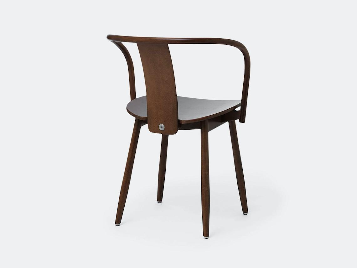 Massproductions Icha Chair Walnut Back