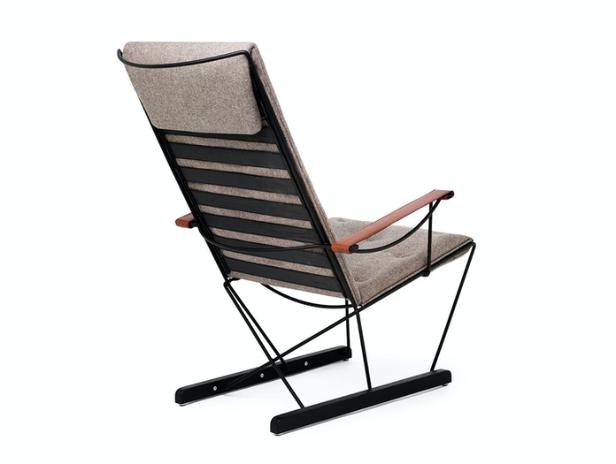 Massproductions Spark Lounge Chair Black Frame Back Chris Martin
