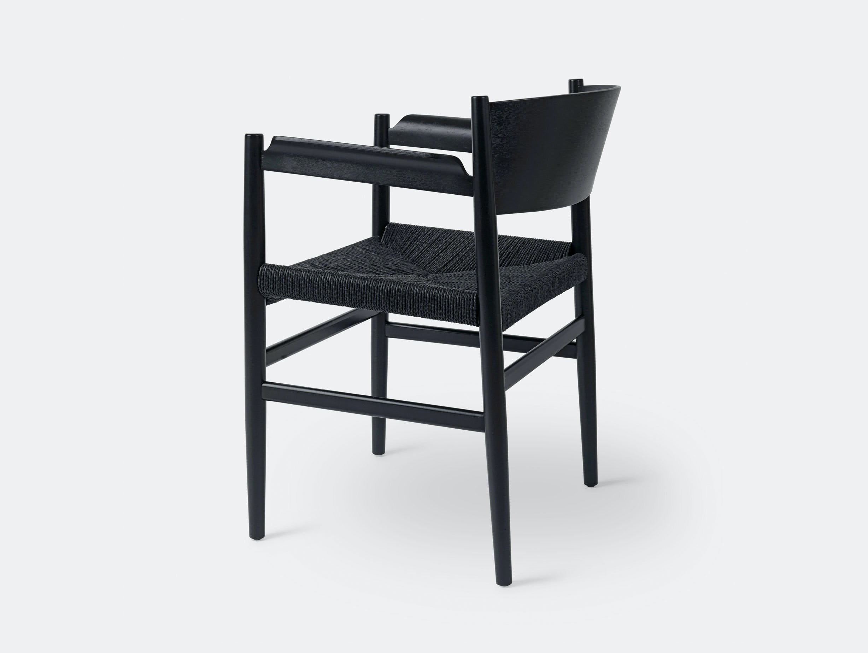 Mater Nestor Chair Black Beech Papercord Tom Stepp