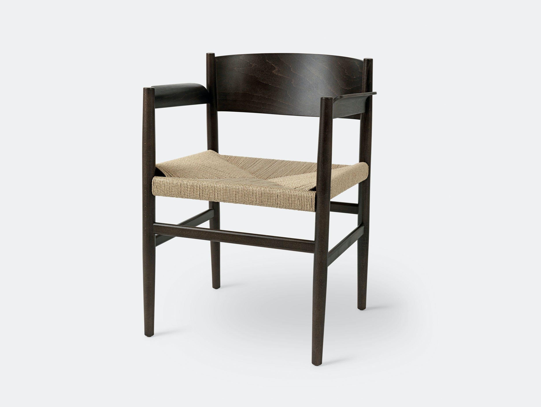 Mater Nestor Chair Sirka Grey Beech Papercord Tom Stepp
