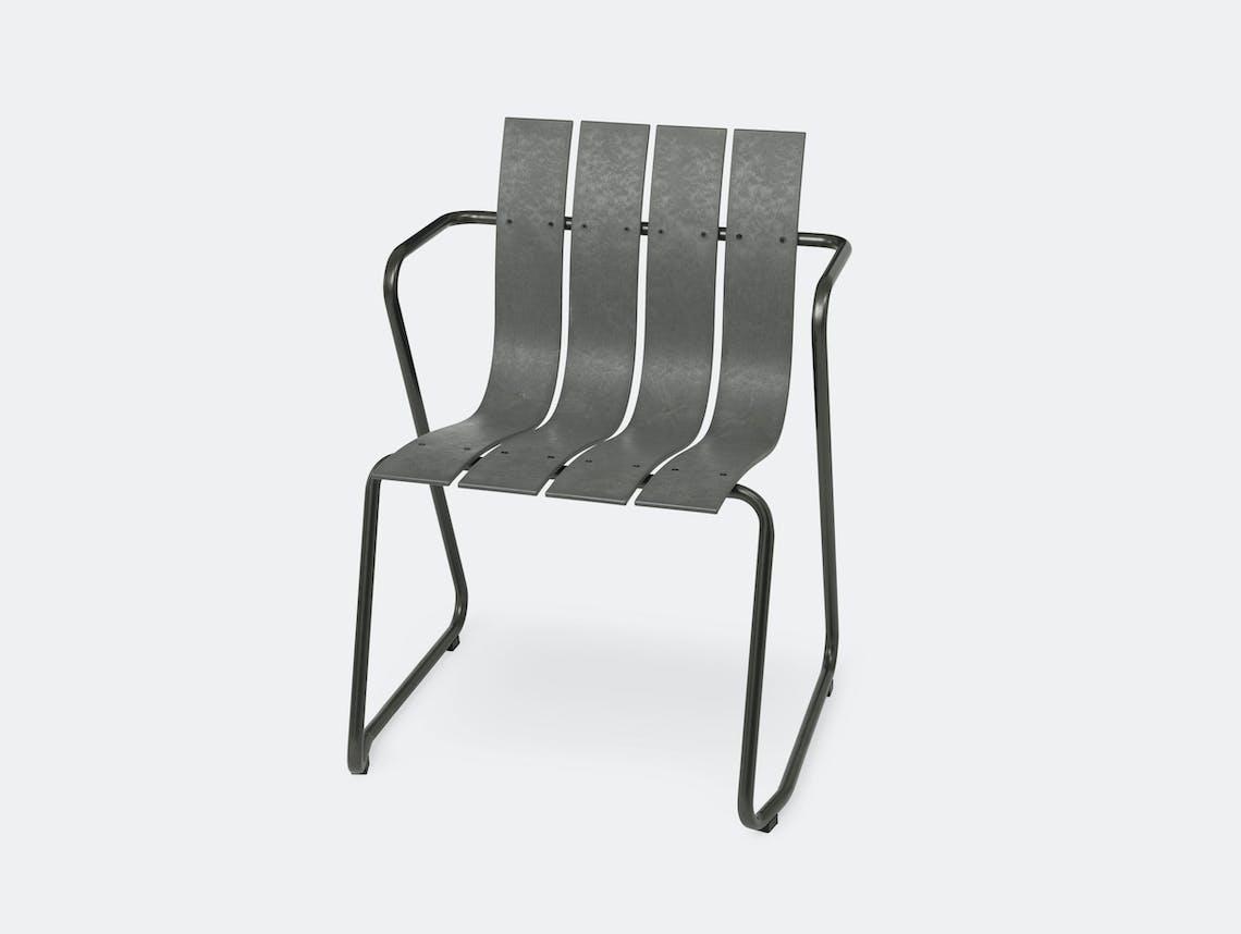 Mater Ocean Chair Concrete Grey Nanna Ditzel