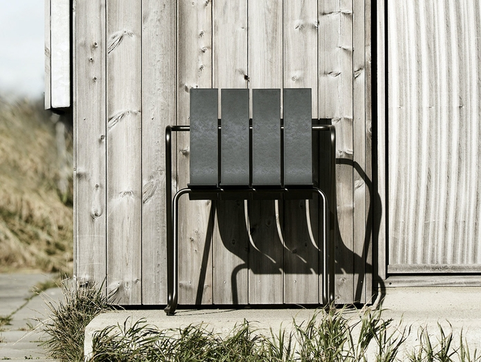 Mater Ocean Outdoor Chair Front Nanna Ditzel